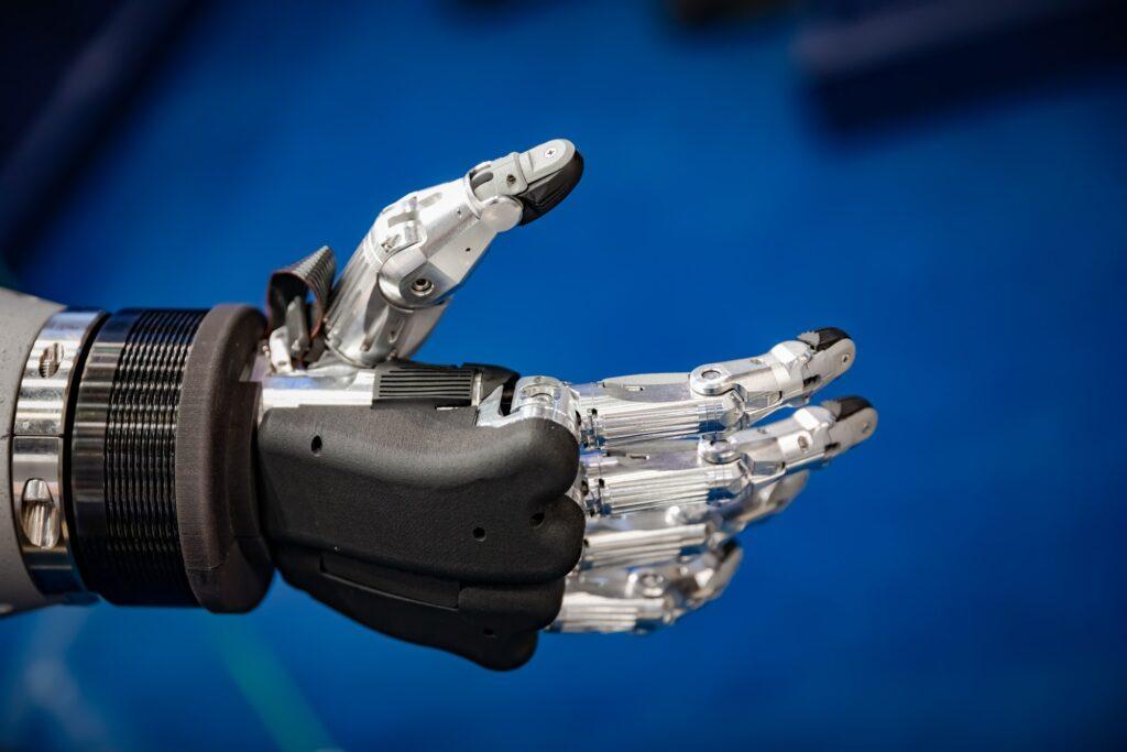 Futuristisk robothand